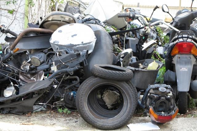 バイク廃車 バイク処分